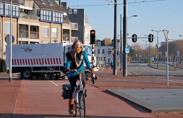 Pelajar internasional di Kota Delft di Belanda