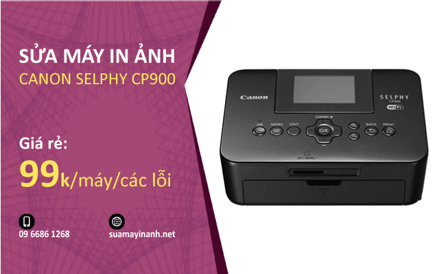 Sua may in anh Canon Selphy CP900
