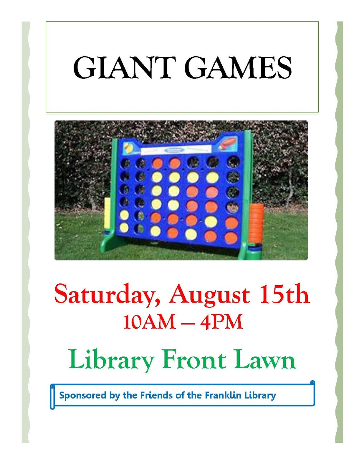 Franklin Library - Giant Games