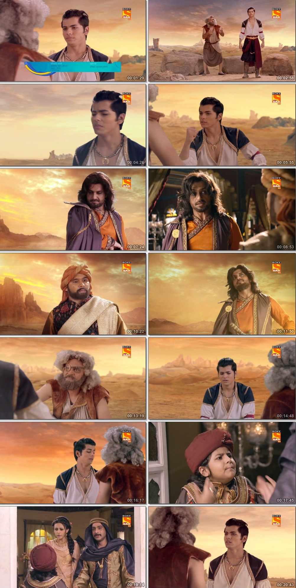 Screenshots Of Hindi Show Aladdin – Naam Toh Suna Hoga 2019 Episode 255 300MB 720P HD