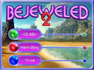 Chơi game xếp kim cương Bejeweled  mới nhất