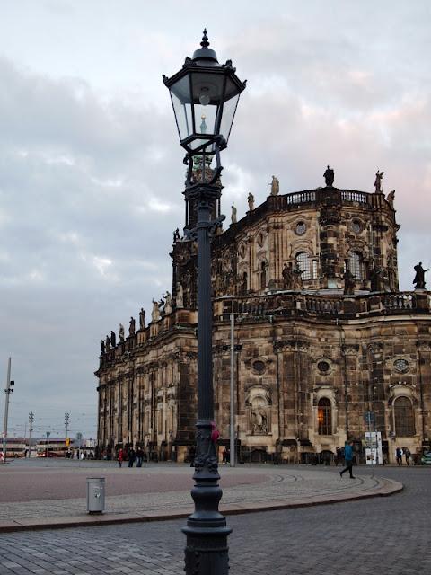 Dresden, Kirche, Laterne