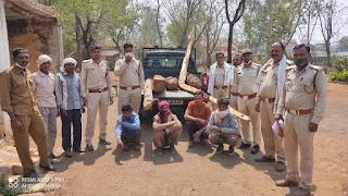 वन में आग लगाने वाले आरोपियों को गिरफ्तार कर न्यायालय के समक्ष प्रस्तुत किया गया