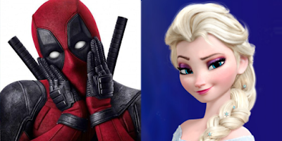 Deadpool vs Elsa