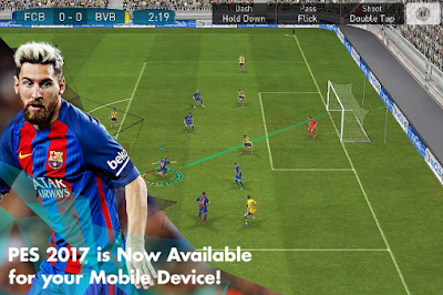 PES 2017 APK + Data For Android