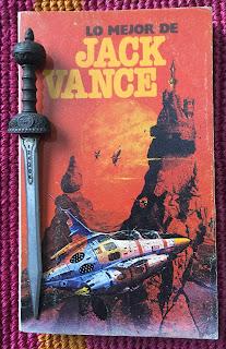 Portada del libro Lo mejor de Jack Vance, de Jack Vance