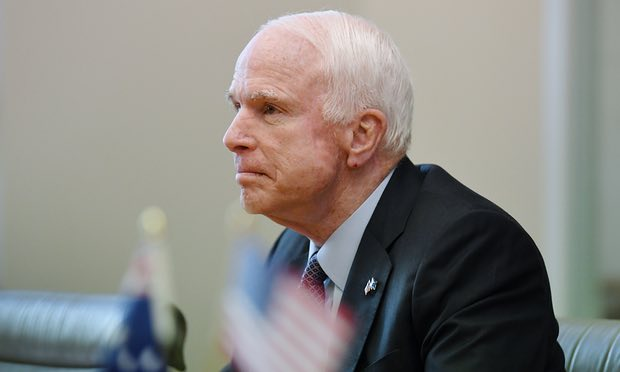 Vladimir Putin is a bigger threat than Isis, John McCain says
