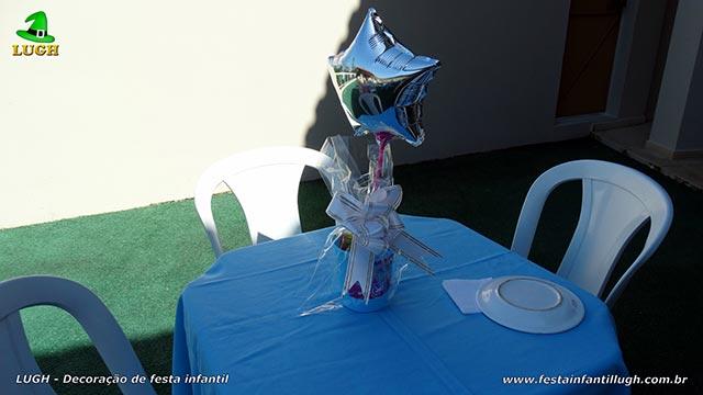 Enfeites para o centro das mesas dos convidados