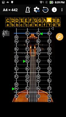 تنزيل تطبيق إحترافي لضبط آلة الكمان - Violin Tuner
