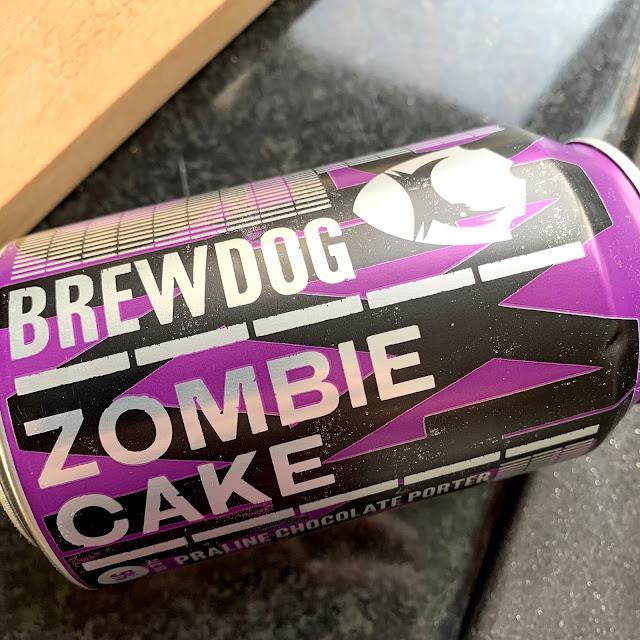 BrewDog Zombie Cake Porter