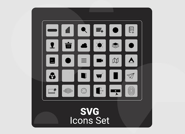 Icons Free Vector