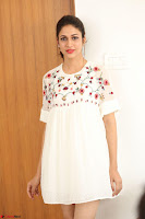 Lavanya Tripathi in Summer Style Spicy Short White Dress at her Interview  Exclusive 160.JPG