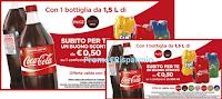 Logo Buoni sconto Coca-Cola e Coca-Cola Zero