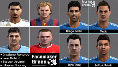 Mix Facepack Pes 2013 by Green
