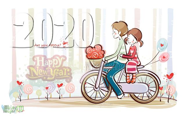 Happy New Year 2020 HD Love Photo Wishes