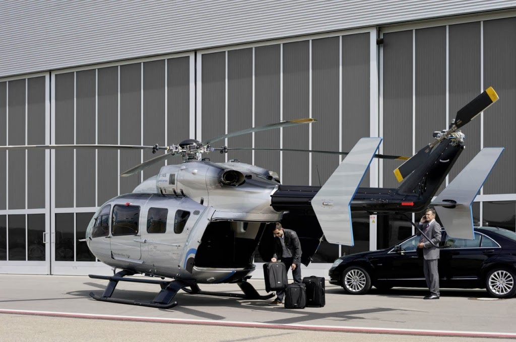 passion for luxury ec145 mercedes benz style helicopter. Black Bedroom Furniture Sets. Home Design Ideas