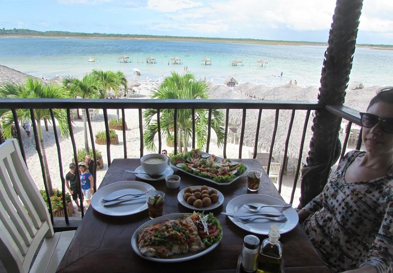 Lagoa do Paraíso Jericoacoara, quanto custa, restaurantes
