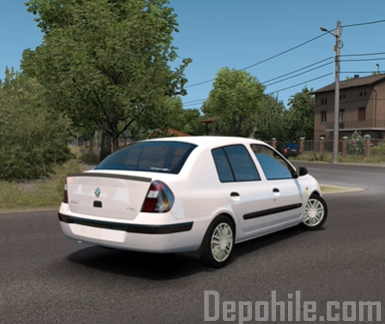 ETS2 1.36 Renault Clio 2 Araba Modu İndir Tanıtım 2020