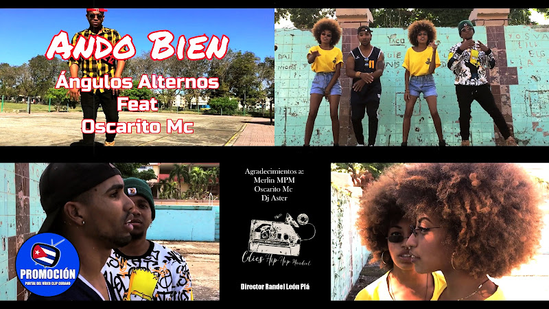 Ángulos Alternos Cuba - ¨Ando bien¨ - Videoclip - Director: Randel León Plá. Portal Del Vídeo Clip Cubano. Música cubana. Hip Hop. Rap. Cuba.