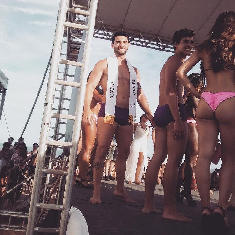 Matheus Lopes foi eleito Garoto Verão 2016 de Rio das Ostras. Foto: Arquivo pessoal