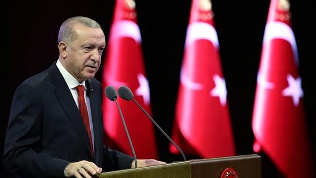 """Ερντογάν: Λύση δύο κρατών στην Κύπρο, """"ο Μητσοτάκης να μάθει τα όρια του"""""""