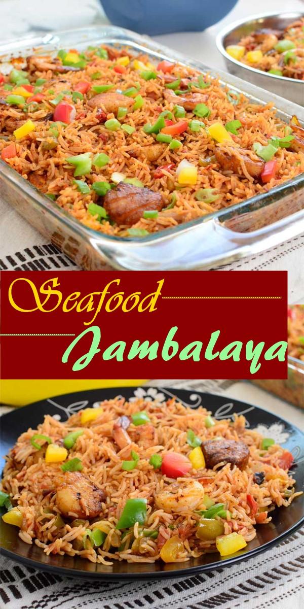 Seafood Jambalaya #dinnerrecipes