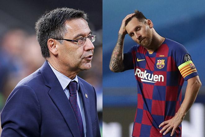 """""""Ông trùm"""" Barca níu kéo bị Messi xử phũ, triệu fan Argentina ủng hộ"""