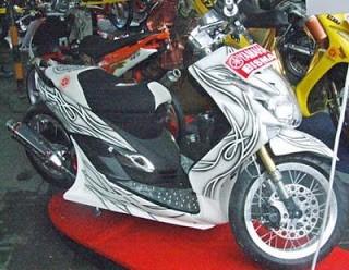MODIFIKASI MOTOR MIO M3