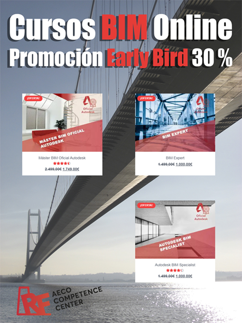 Cursos BIM Online (Promocion Early Bird 30% de descuento)