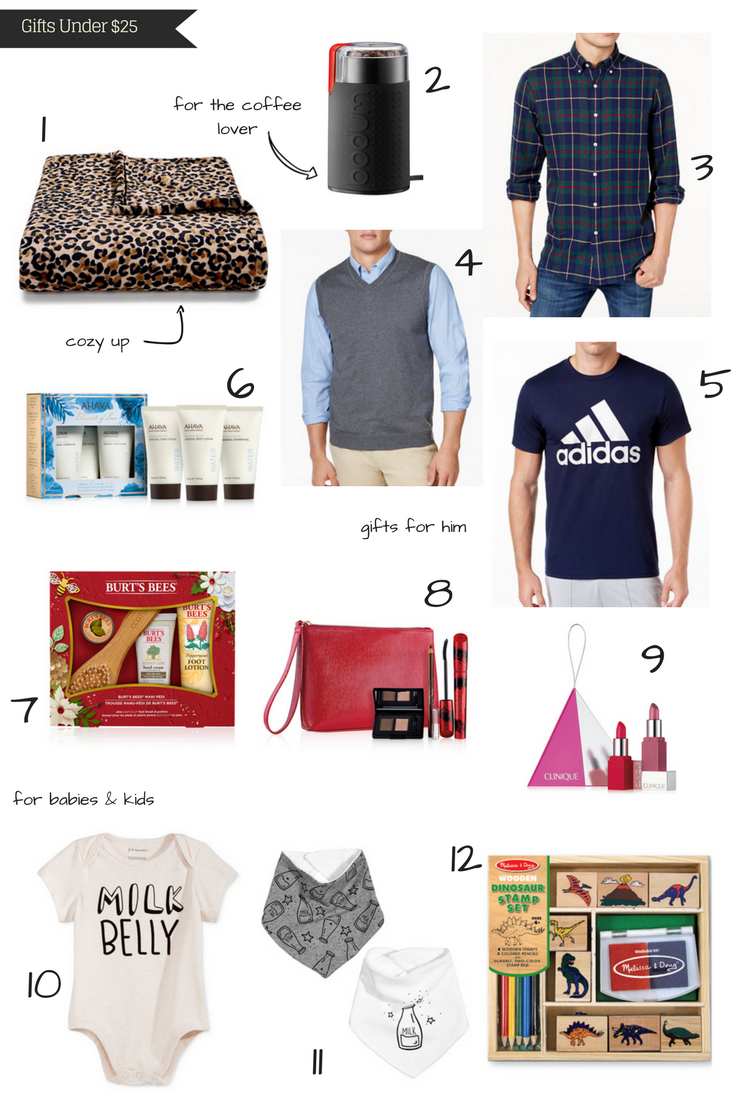 A Glad Diary: Christmas Gift Ideas Under $25