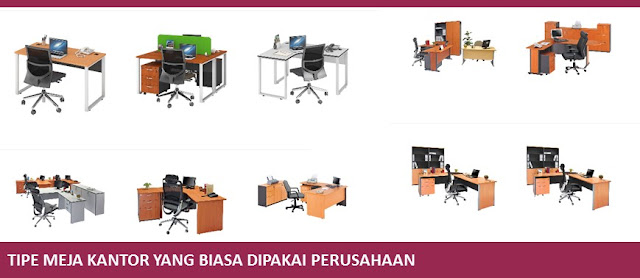 Tipe Meja Kantor yang Biasa Dipakai Perusahaan - Blog Mas Hendra
