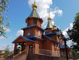 Изюм. Храм и монастырь в честь Песчанской Божией Матери