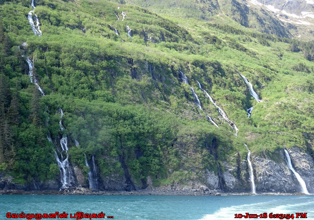 Rookery Falls Learnard Glacier