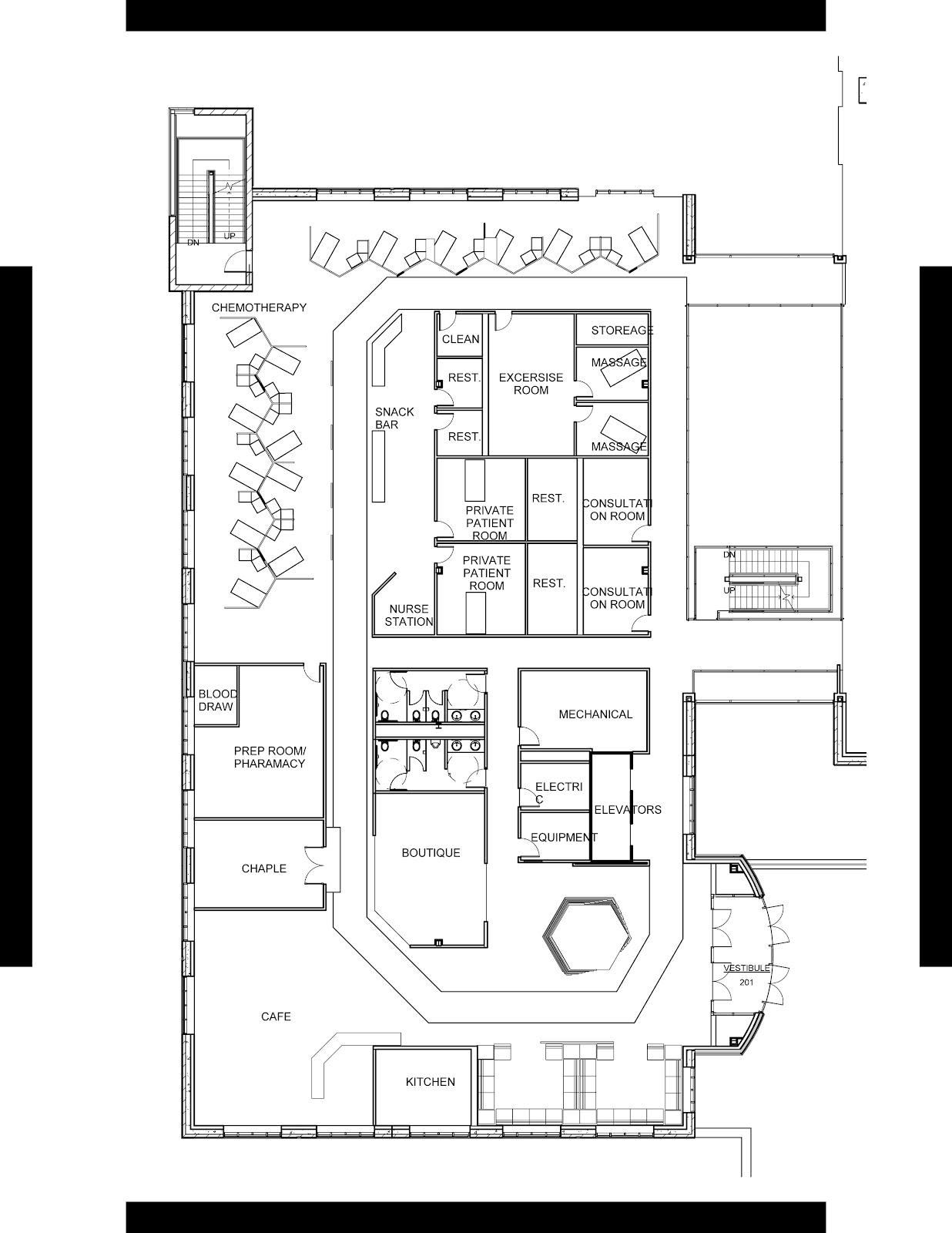 Chemotherapy Room Design: DESIGN-AWAY