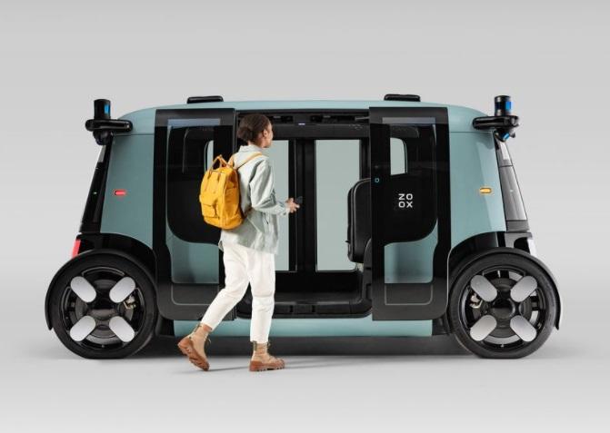 Zoox Shuttle atau taksi dengan autopilot