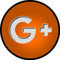 google plus glowing icon