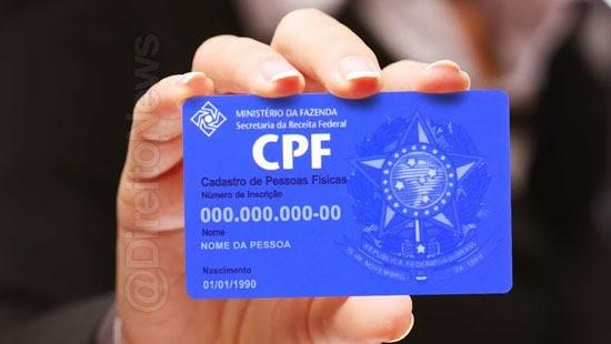 camara cpf unico numero identificacao pais