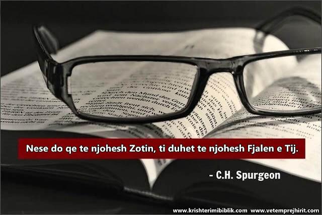 Zoti, Bibla, spurgeon shqip, sperxhen,