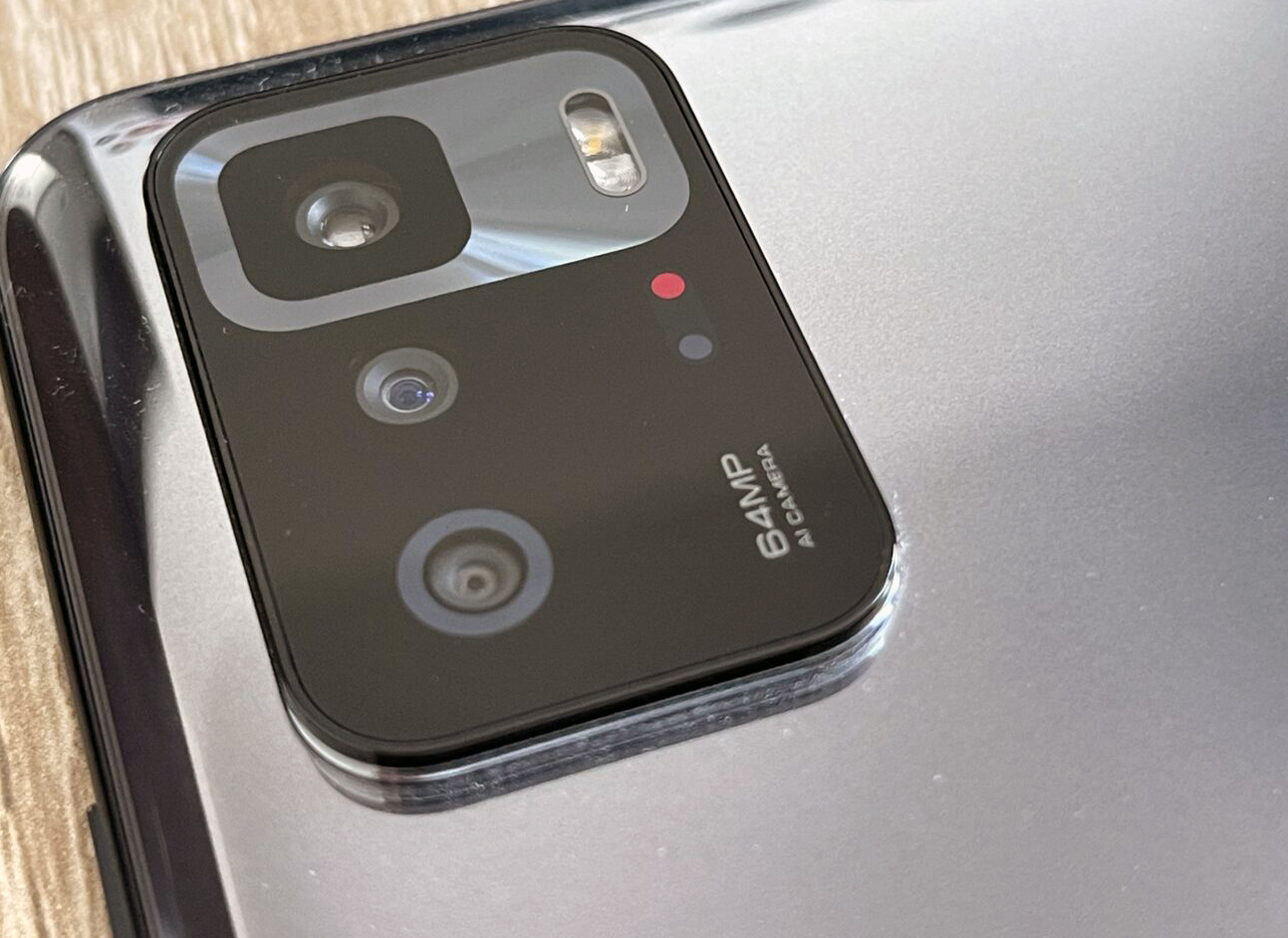 Desain Modul Kamera Poco X3 GT