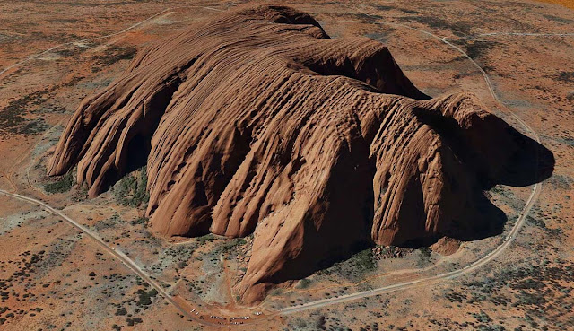 Maior rocha do mundo