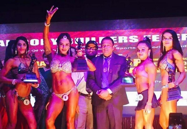 Miss India Shweta Rathore strikes Gold once again in Body Building Championship!
