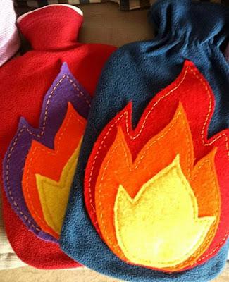 DIY personalizar bolsa agua caliente con fieltro Mallorca Handmade