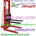 Xe nâng tay cao 1 tấn nâng cao 1.6m TW-lifter A1.0T/1.6M