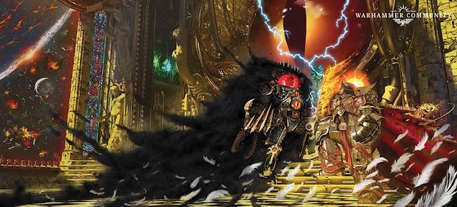 Duelo de El Emperador contra Horus Lupercal