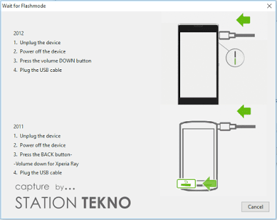 Tutorial Flashing (Instal Ulang) Sony Xperia acro HD (IS12S)