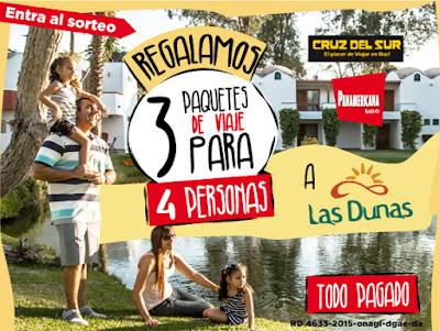 Sorteo Hotel Las Dunas - Radio Panemericana y Cruz del Sur