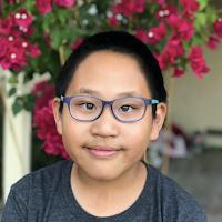 11-year-old Aaron Ma