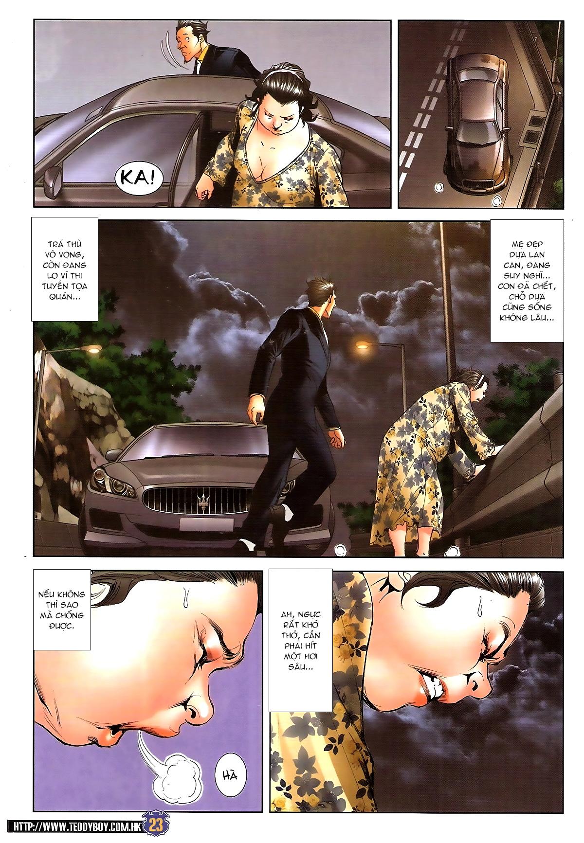 Người Trong Giang Hồ chapter 1642: anh hùng khí đoản trang 22