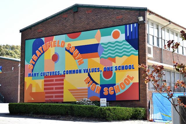 Strathfield Public Art | Street Art by Leading Hand Design