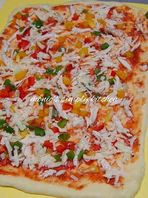 cara buat pizza roll bun